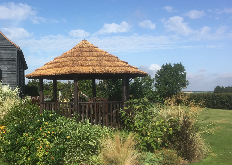 African Cape Reed Thatch Gazebo